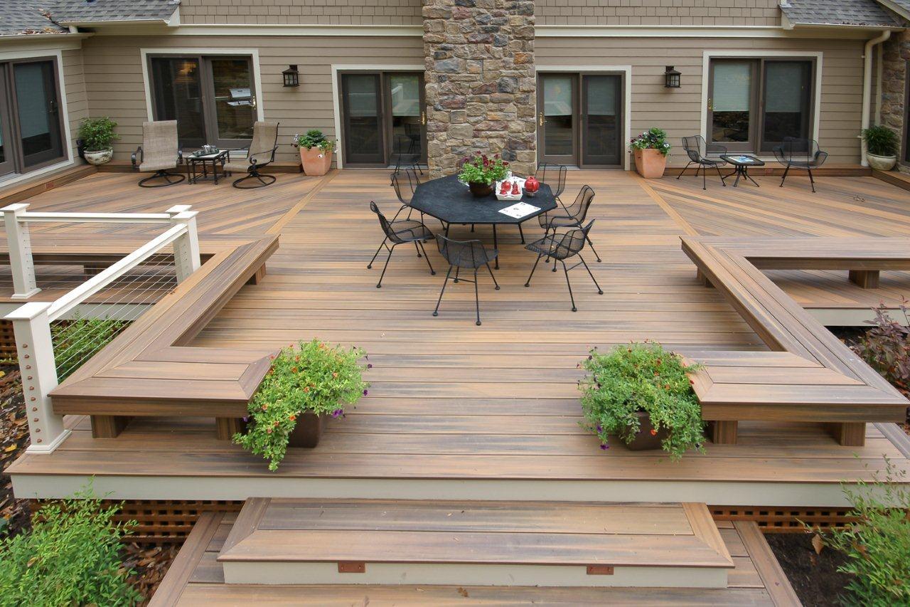 Fabriquer Terrasse En Bois Pas Cher terrasse-composite-fiberdeck-moselle - moderninc